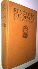 Revolt in the Desert, T E Lawrence, 1927, Garden City - First Edition