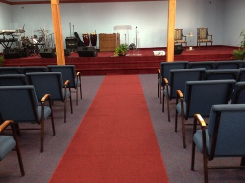 RED CARPET EVENTS RUNNER 4/' ft wide Buy it by the length you want custom sizes