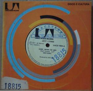 JEFF-LYNNE-1977-Goin-Down-To-Rio-RARE-PROMO-EDITION-ELO-7-Single-45-BRAZIL