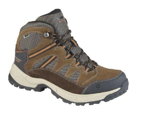 Herren Hi-TEC Bandera II Wp Trail Mountain Stiefel Schokolade//Brown//Orange