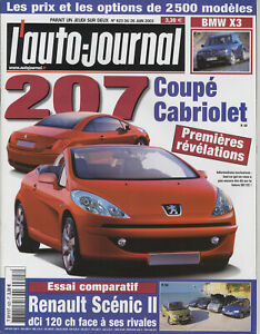 L-039-AUTO-JOURNAL-n-623-26-06-2003-207CC-BMW-X3-SAAB-9-3-2-0T-CADILLAC-XLR-BMW-330D