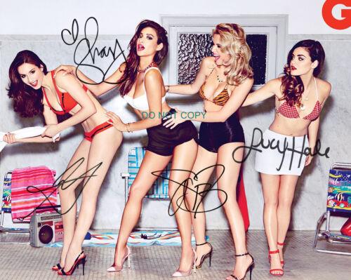 "Pretty Little Liars Reprint Signed 8x10/"" Cast Promo Photo #5 RP PLL"