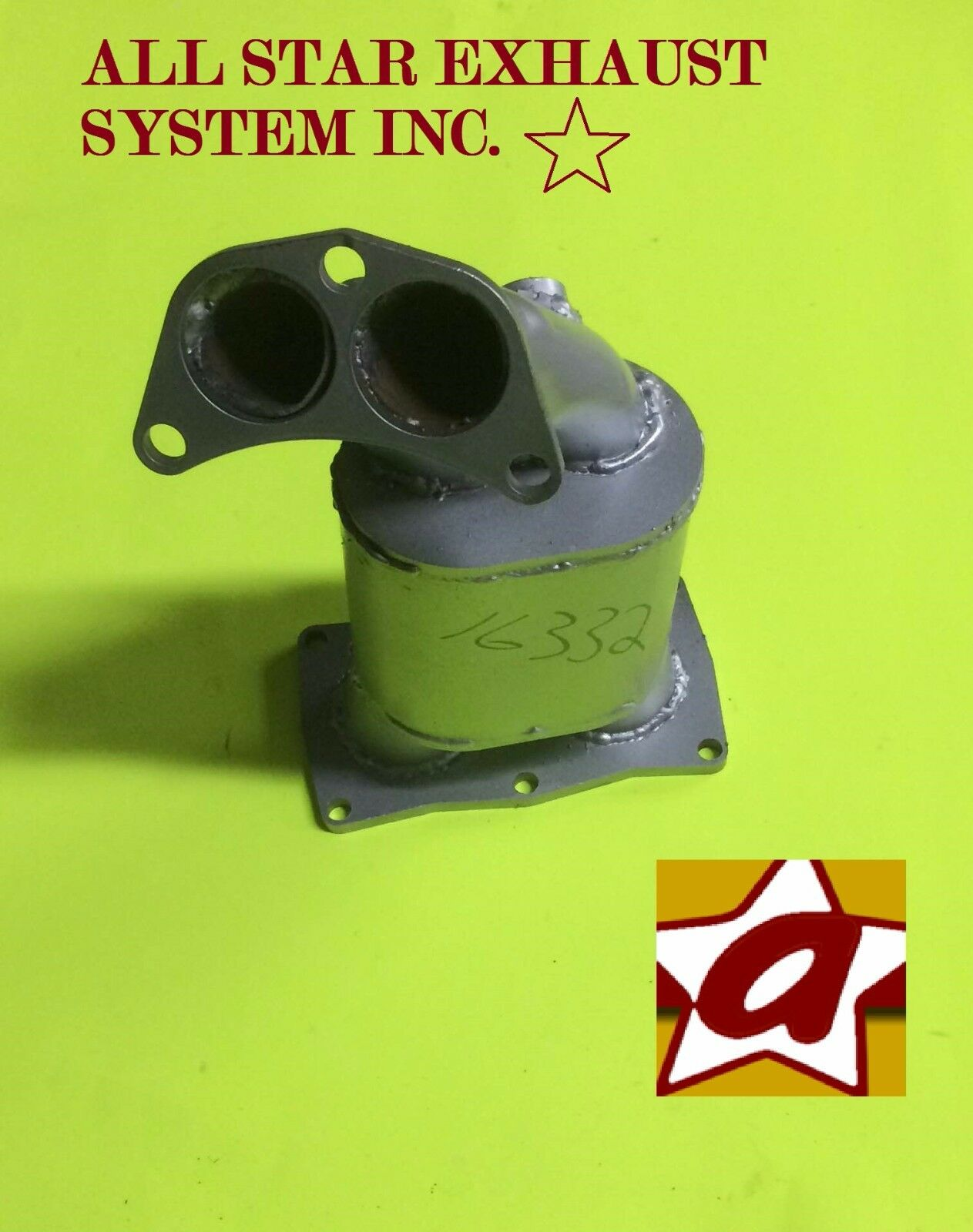 Manifold Converter Fits /> Nissan Sentra 1.8 L 2000-2001-2002  Direct fit 16332