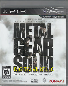 Metal-Gear-Solid-The-Legacy-Collection-PS3-Brand-New-Sealed-PlayStation-MGS