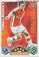 TOMAS ROSICKY # REP.CZECH ARSENAL.FC CARD PREMIER LEAGUE 2010 TOPPS