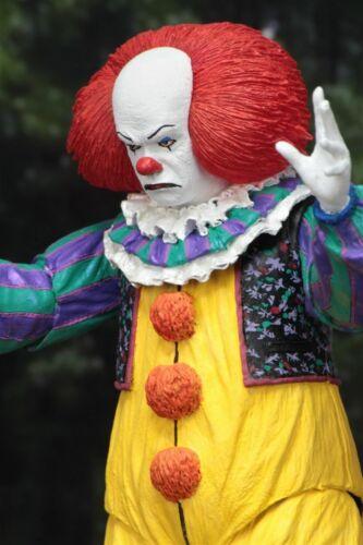 Restituire L/'ANIMA Clown Pagliaccio IT 1990 EDIZIONE 7-Inch rimovibile Bambola NECA 2019 NUOVO