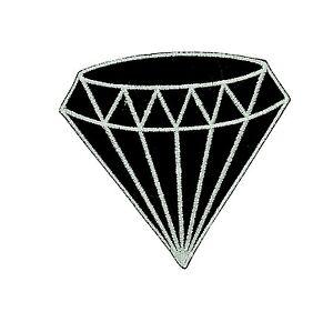 Patch-backpack-black-diamond-gem-gemstone-iron-on-glue-carat-retro-jewelry