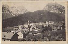 SAPPADA - CADORE - BORGATA GRANVILLA (BELLUNO) 1932