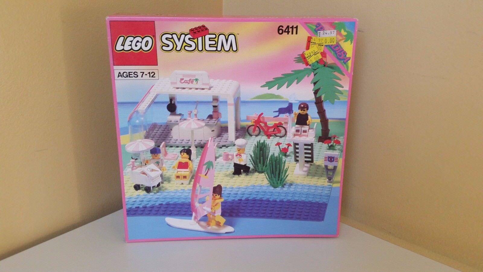 NEW Lego Town Paradisa 6411 SAND DOLLAR CAFE Sealed rare 1992