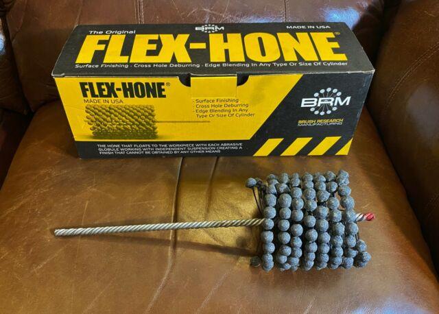 ... GB Series Silicon Carbide Abrasive Brush Research FLEX-HONE Cylinder Hone