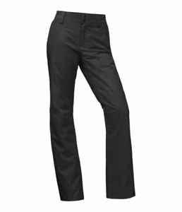 NWOT-WOMENS-THE-NORTH-FACE-SALLY-SNOW-PANTS-L-Black-Reinforced-Edges
