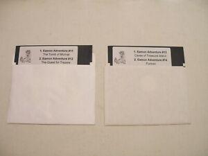 Eamon-Adv-Disks-11-12-13-14-for-Apple-II-Plus-Apple-IIe-Apple-IIc-IIGS