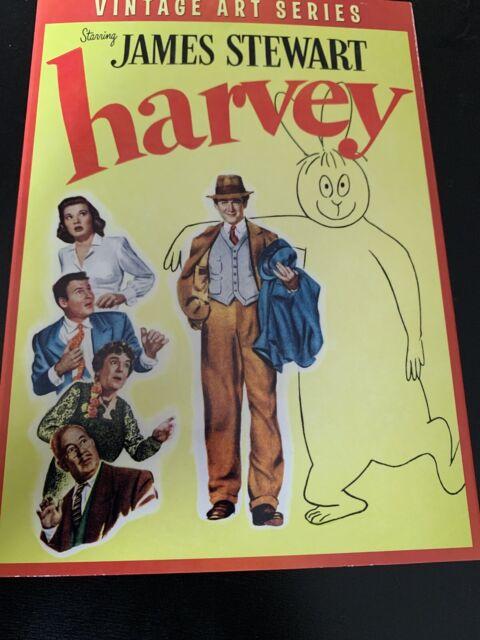 Harvey (DVD) Vintage Art Series Slipcover NEW Jimmy ...