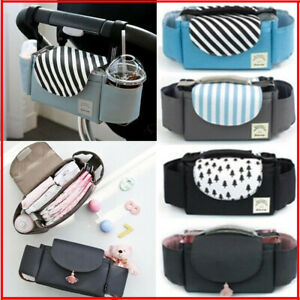 Baby-Organiser-Mummy-Bag-Storage-Buggy-Stroller-Pram-Pushchair-Bottle-Cup-Holder