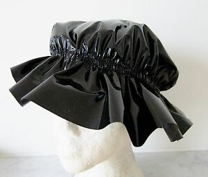 how to make a frilly shower cap
