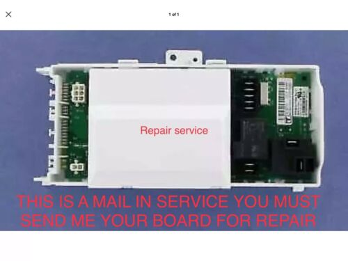 Maytag Whirlpool  Kenmore Control Board F01 Repair Service Fast Turn Around