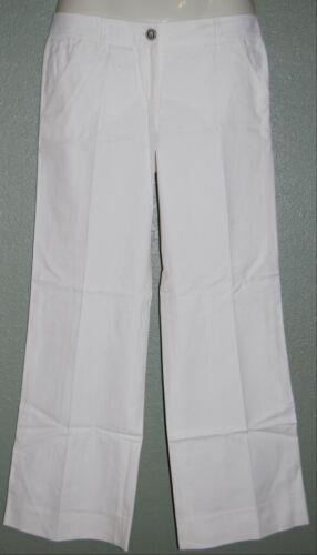 Missoni Orange Label White Wide Legged Pants Slack