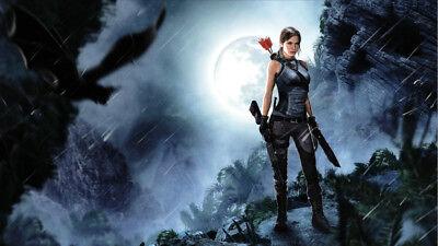 Lara Croft Movie Poster 24in x 36in