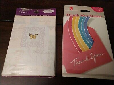 Box of 8 handmade note cards with envelopes 8 free unaffixed first-class stamps included