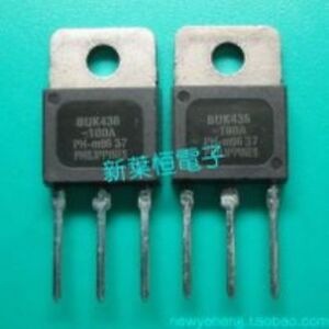 PHILIPS BUK436-1000B TO-220 N-Channel Enhancement MOSFET