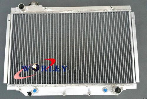 3 core aluminum radiator for 80 Series Landcruiser HDJ80 HZJ80 4.2 diesel AT//MT
