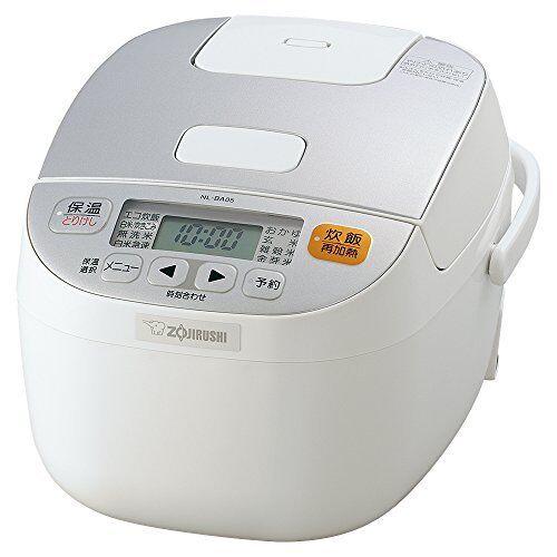 Zojirushi rice cooker microcomputer Formula 3 Cups Go blanc NL-BA05-WA