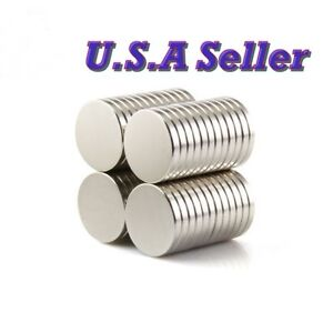 20PCS N50 15mm X 2mm Round Disc Super Strong Rare Earth Magnets Neodymium