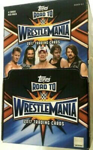 2017-Topps-WWE-Road-to-Wrestlemania-Gravity-Feed-Box-60-Packs