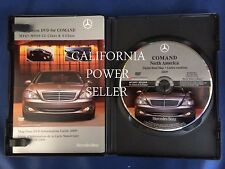 2008 2009 MERCEDES BENZ S600 SEDAN RWD 5.5L V12 NAVIGATION MAP CD DVD US ONTARIO