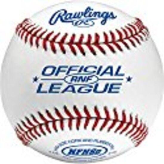Rawlings RNF High School Game Baseball Full Grain Cover Cushioned Cork Leather
