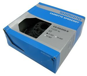 Shimano Altus CS-HG200 11-32 11-34 11-36 9 Speed Mountain Bike Cassette