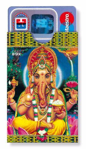 cardbox GANESHA Kartenhülle für Indienfans Sanskrit Hinduismus Hindu Ganapati