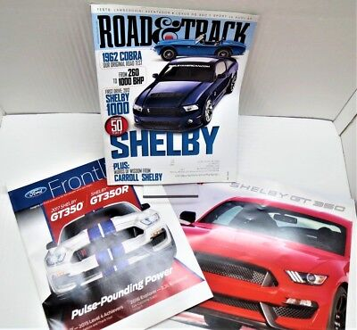 2017 Ford Mustang Shelby GT350 /& GT350R brochure BRAND NEW