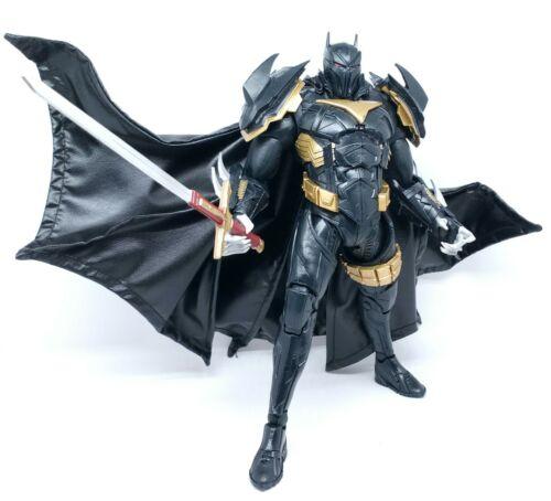 No Figure Black Faux Leather Cape for McFarlane Azrael Batman