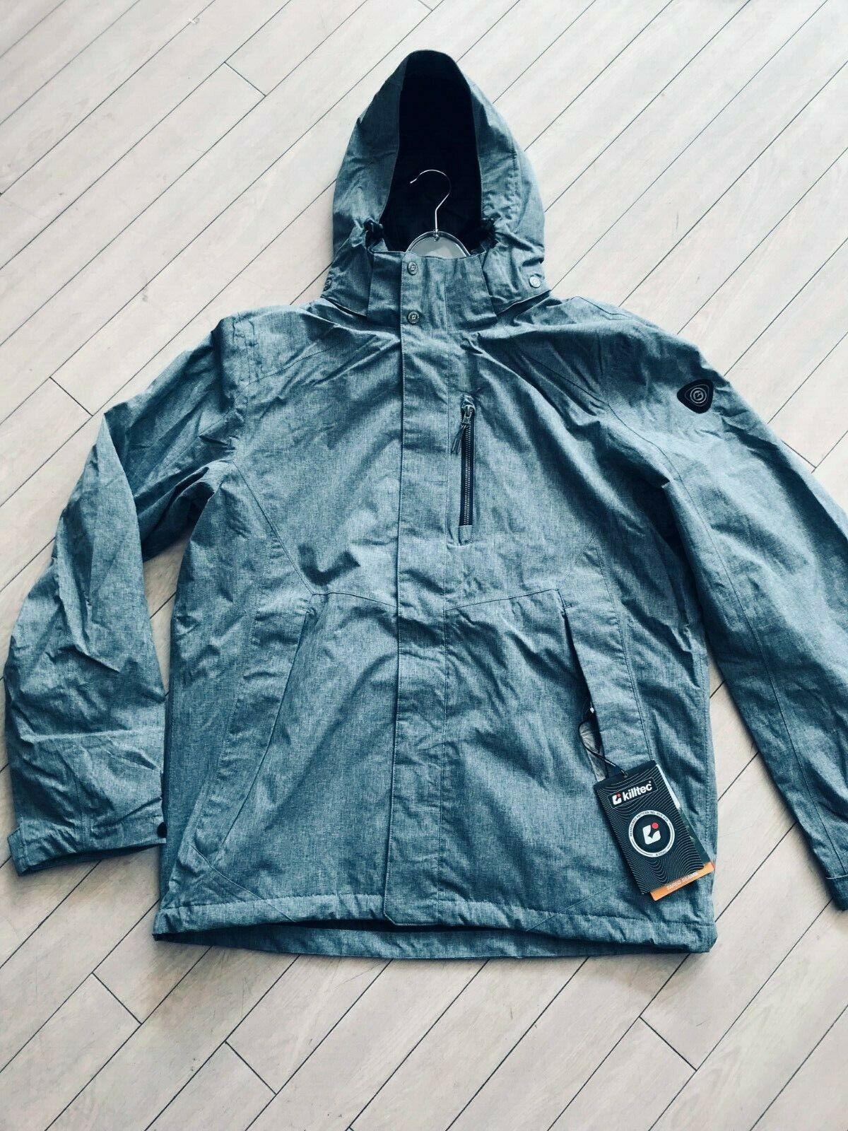 Killtec Outdoor Jacke  LEFOS 1 Gr.  XL  wasserdicht  FB Blau-grau