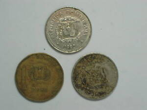 DOMINICAN-REPUBLIC-3-different-COINS