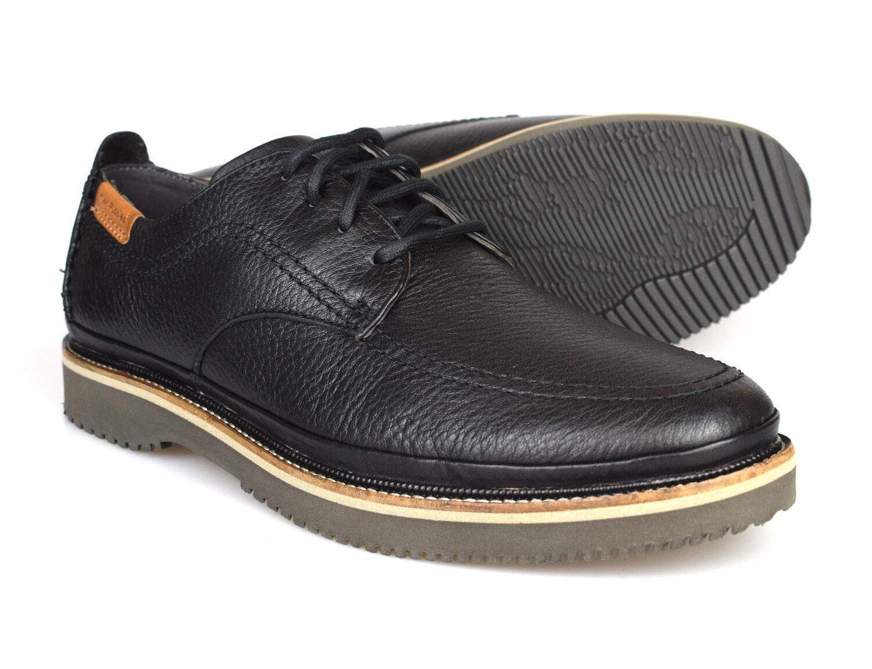 Hush Puppies Kurt Bernard nero Leather Formal  scarpe HM01762  esclusivo