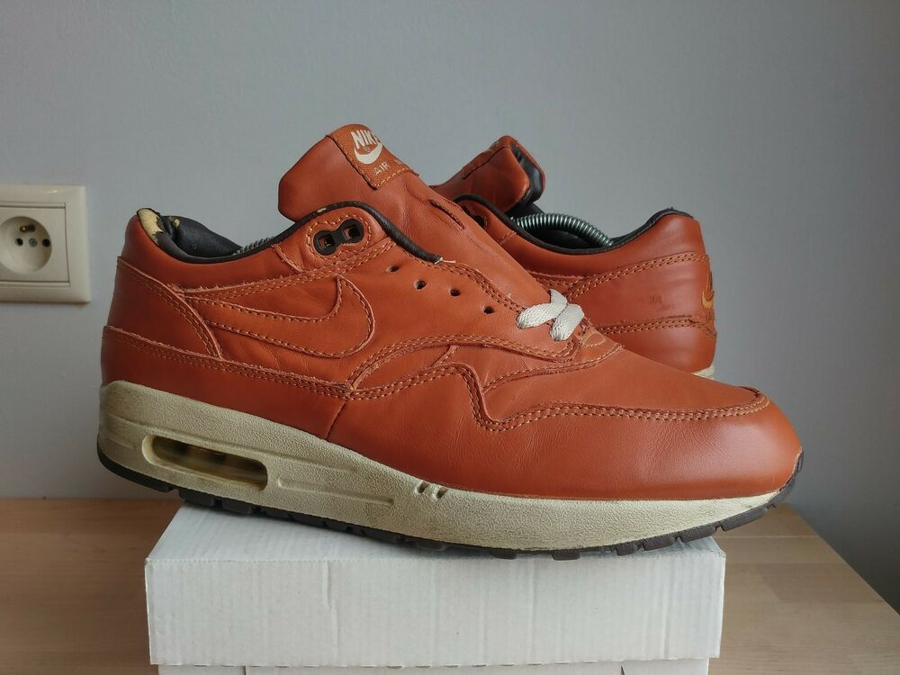 NIKE AIR MAX 1 CURRY LEATHER 2003 US10.5 AM1 HUF RARE VINTAGE PATTA PARRA ATMOS