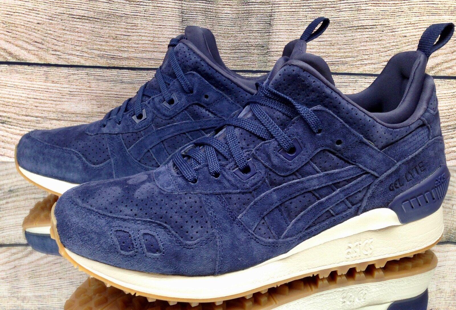 Asics Gel-Lyte MT Azul blancoo Goma HL7Y1-5858 zapatos atléticos para hombres