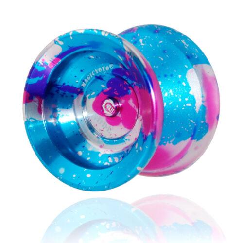 MAGICYOYO-Y01 Polished Alloy Aluminum Professional Unresponsive Yoyo Ball J2W1