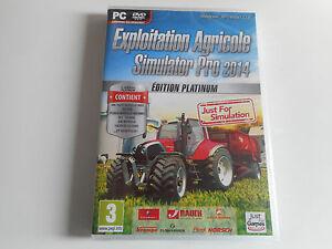 JEU-PC-DVD-ROM-NEUF-EXPLOITATION-AGRICOLE-SIMULATOR-PRO-2014