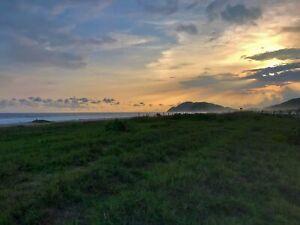 Terreno con frente de playa PALMA SOLA PUERTO ESCONDIDO