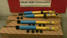 TOYOTA TACOMA 1998-2004 4WD NEW GENUINE OEM FRONT AND REAR BILSTEIN SHOCKS SET