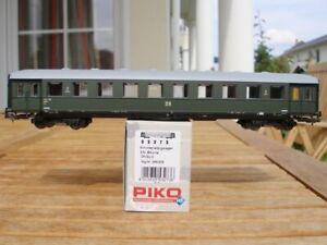 PIKO-53273-Schuerzeneilzugwagen-B4ueml-2-Klasse-der-DR-Epoche-3-neuwertig-in-OVP