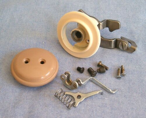 Singer 401a  Sewing Machine Stitch Selection Indicator Knobs Assembly