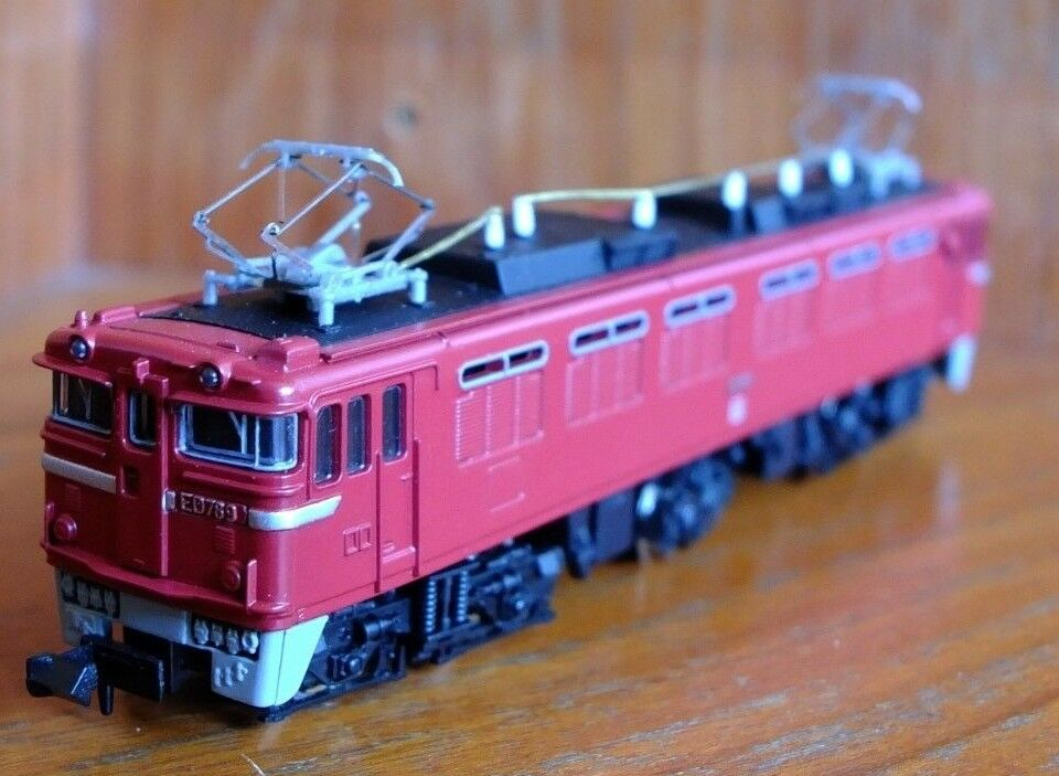 Micro Ace A9202 N-Gauge ED78 electric locomotive in JR red livery