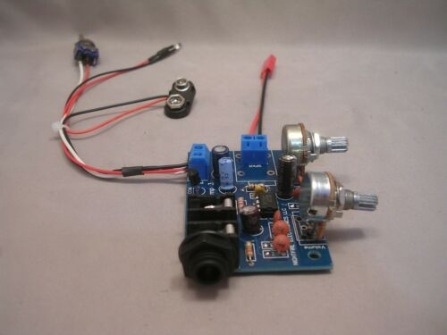 9V CIGAR BOX GUITAR AMP /& WIRING HARNESS NOW WITH UPGRADED POTS