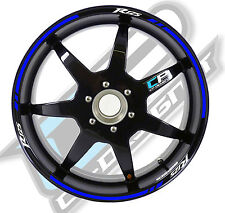 Strisce adesive per cerchi moto tipo 3 YAMAHA R125 sticker strip r 125 sticker