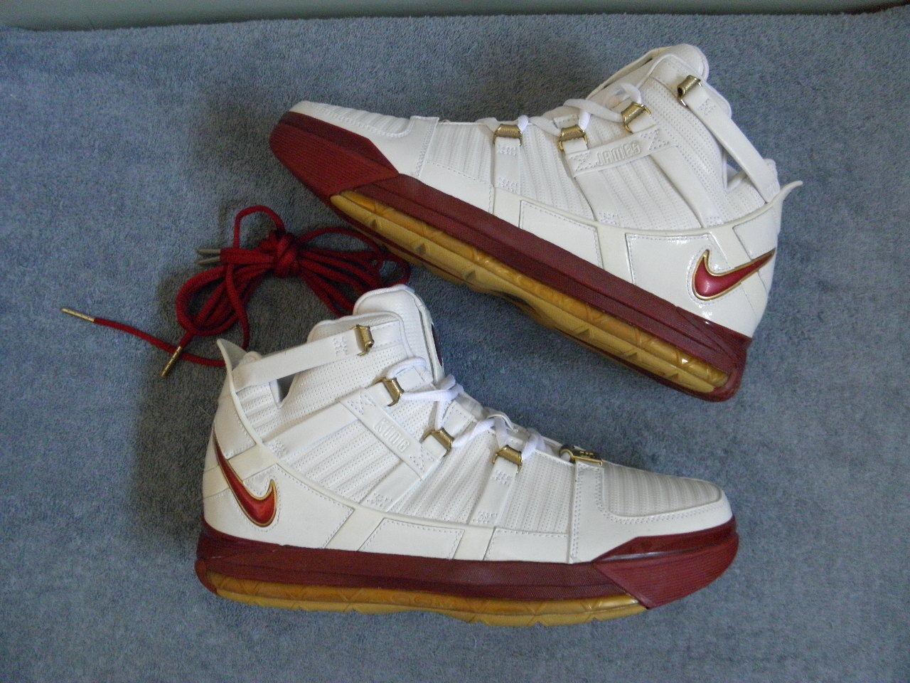 Nike Air Zoom Generation 3 III LeBron James PLAYOFFS sz 11 AREA CODE PLAYOFFS James PE RARE DS 932385
