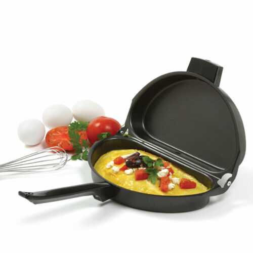 Norpro Non-Stick Omelet Pan with Heat Resistant Handle Item #664